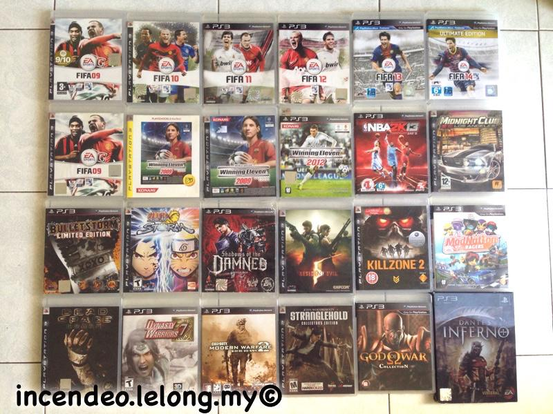 **incendeo** - Original SONY Playstation 3 Blu-Ray Games PS3