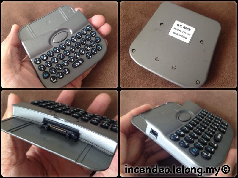 **incendeo** - PALM PDA Extended Keyboard