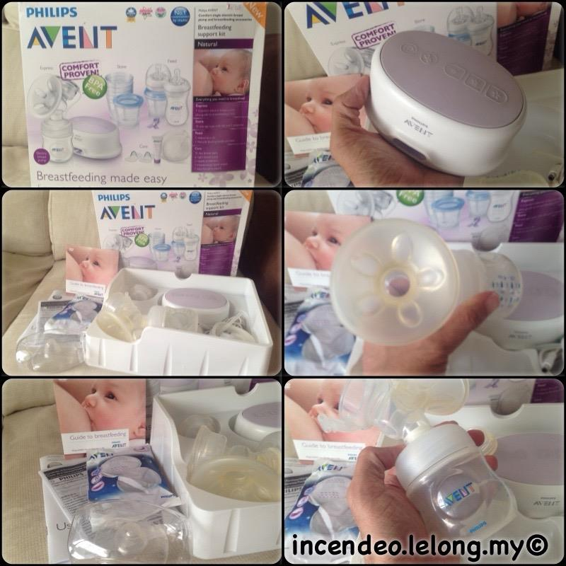 **incendeo** - PHILIPS AVENT Single Electric Comfort Breast Milk Pump