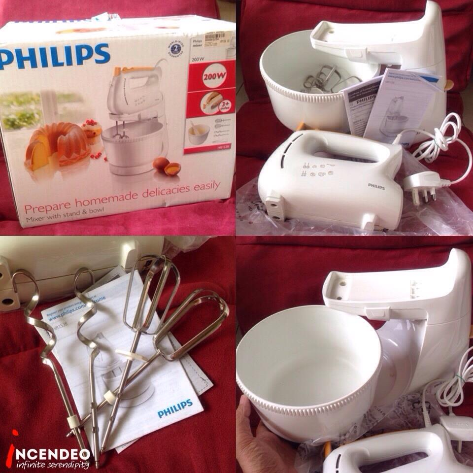 **incendeo** - PHILIPS Mixer with Stand and Bowl HR1538