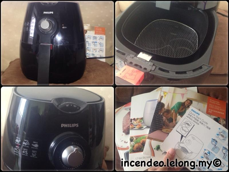 **incendeo** - PHILIPS Viva Collection AirFryer Black HD9220