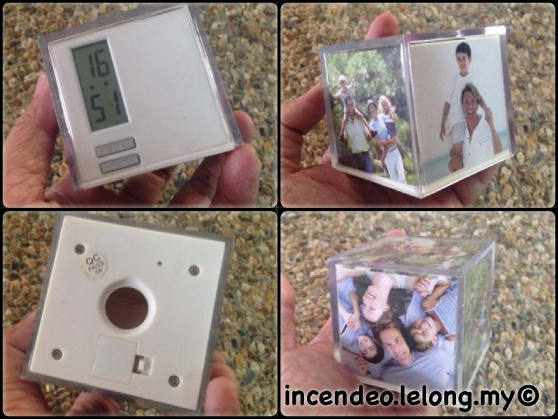 **incendeo** - Photo Cube Digital Clock
