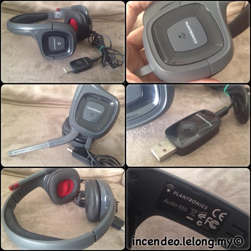 **incendeo** - PLANTRONICS Audio 655 USB Headset