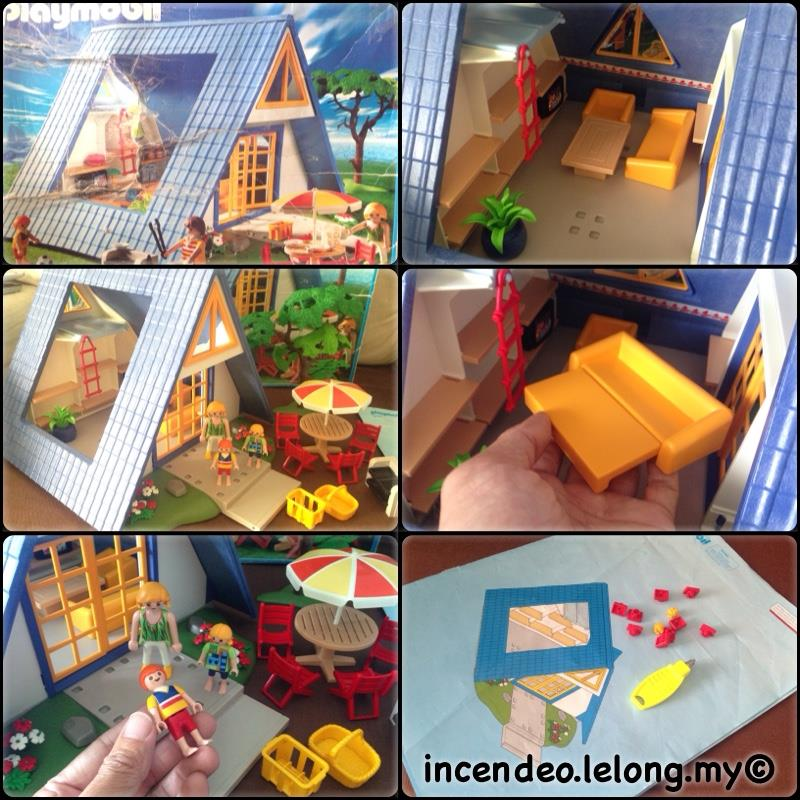 **incendeo** - Playmobil Vacation House 3230 for Kids
