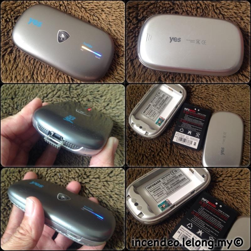 **incendeo** - PROTON yes huddle 4G Wireless Hotspot Special Edition