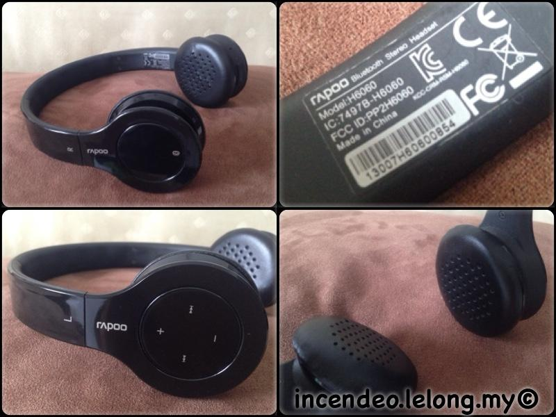 **incendeo** - rapoo Bluetooth Stereo Headphones H6060