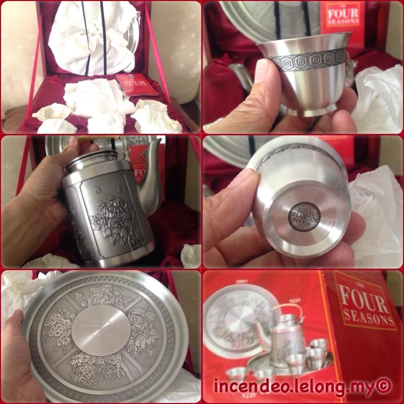 **incendeo** - Royal Selangor Pewter The Four Seasons Tea Set