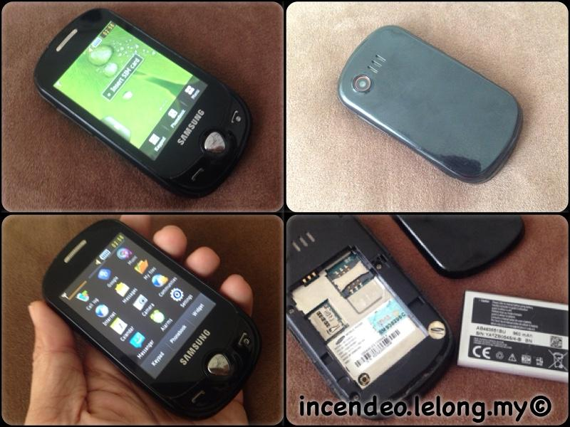 **incendeo** - SAMSUNG Corby Pop C3510 Mobile Phone