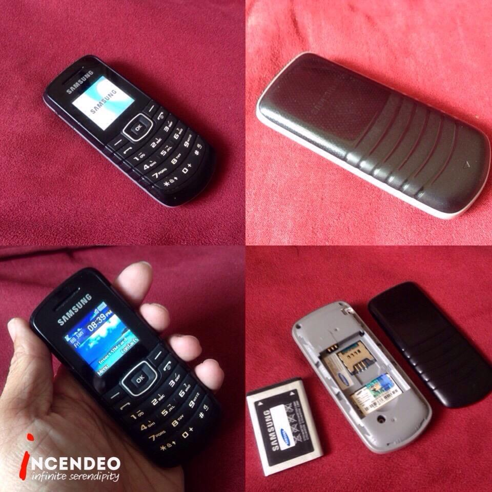 **incendeo** - SAMSUNG Mobile Phone GT-E1080F