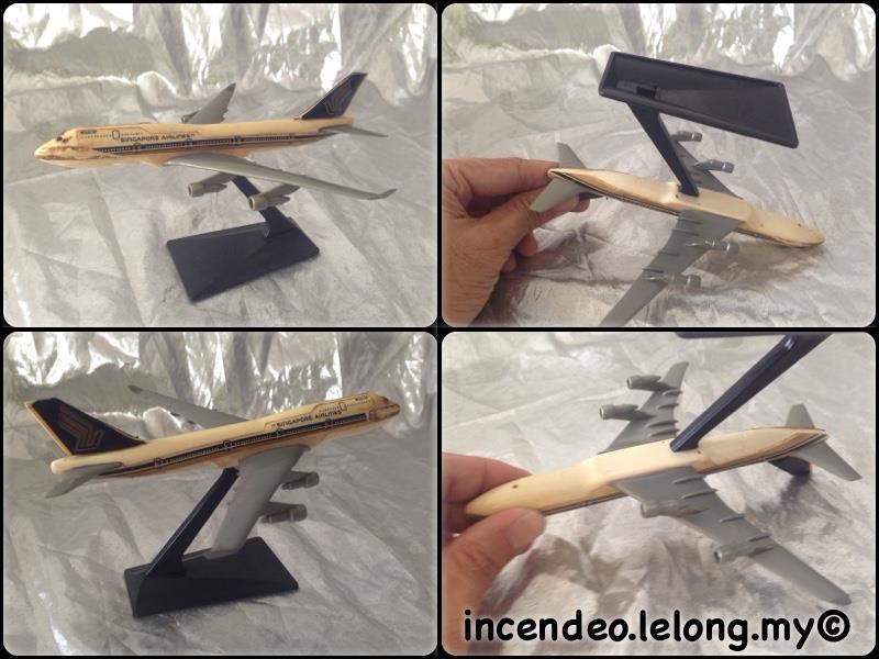 **incendeo** - SINGAPORE Airlines Plastic Plane Model