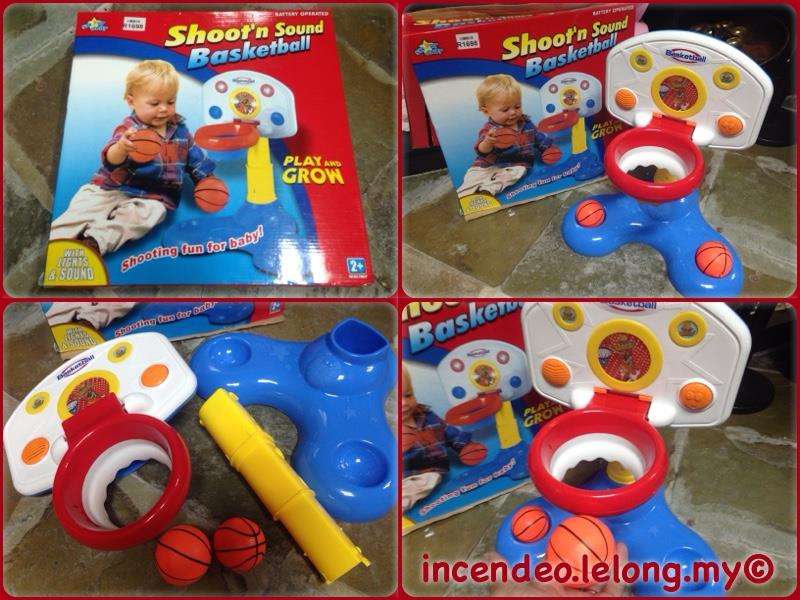 **incendeo** - SMART BABY Shoot�n Sound Basketball For Toddlers