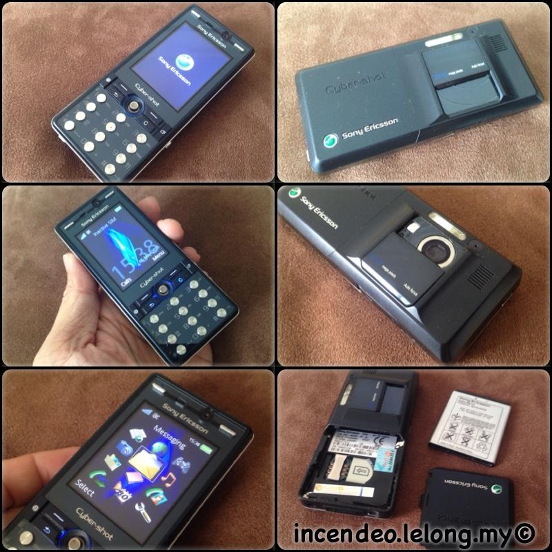 **incendeo** - SONY ERICSSON Cyber-Shot 3G Mobile Phone K810i