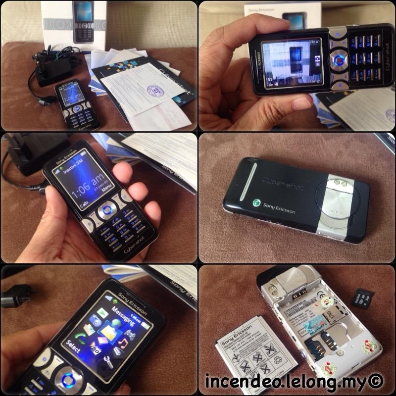 **incendeo** - SONY ERICSSON Mobile Phone K550i