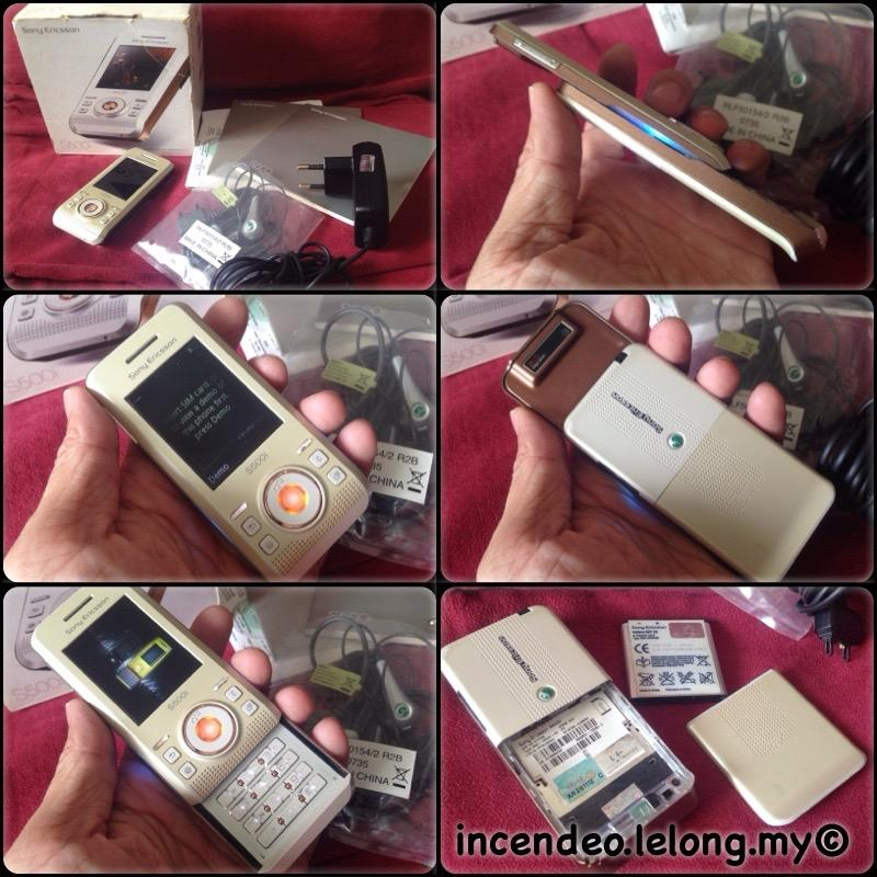 **incendeo** - SONY ERICSSON Mobile Phone S500i