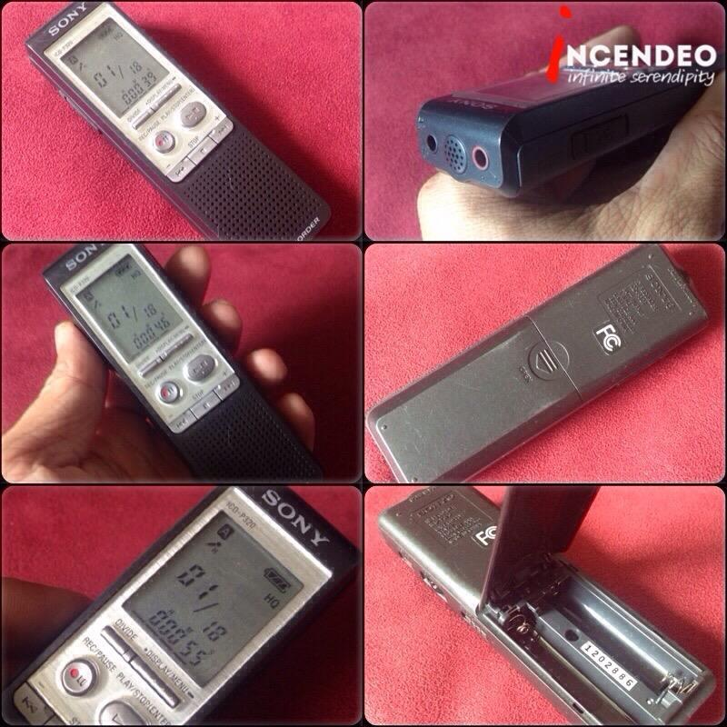 **incendeo** - SONY IC Voice Recorder ICD-P320