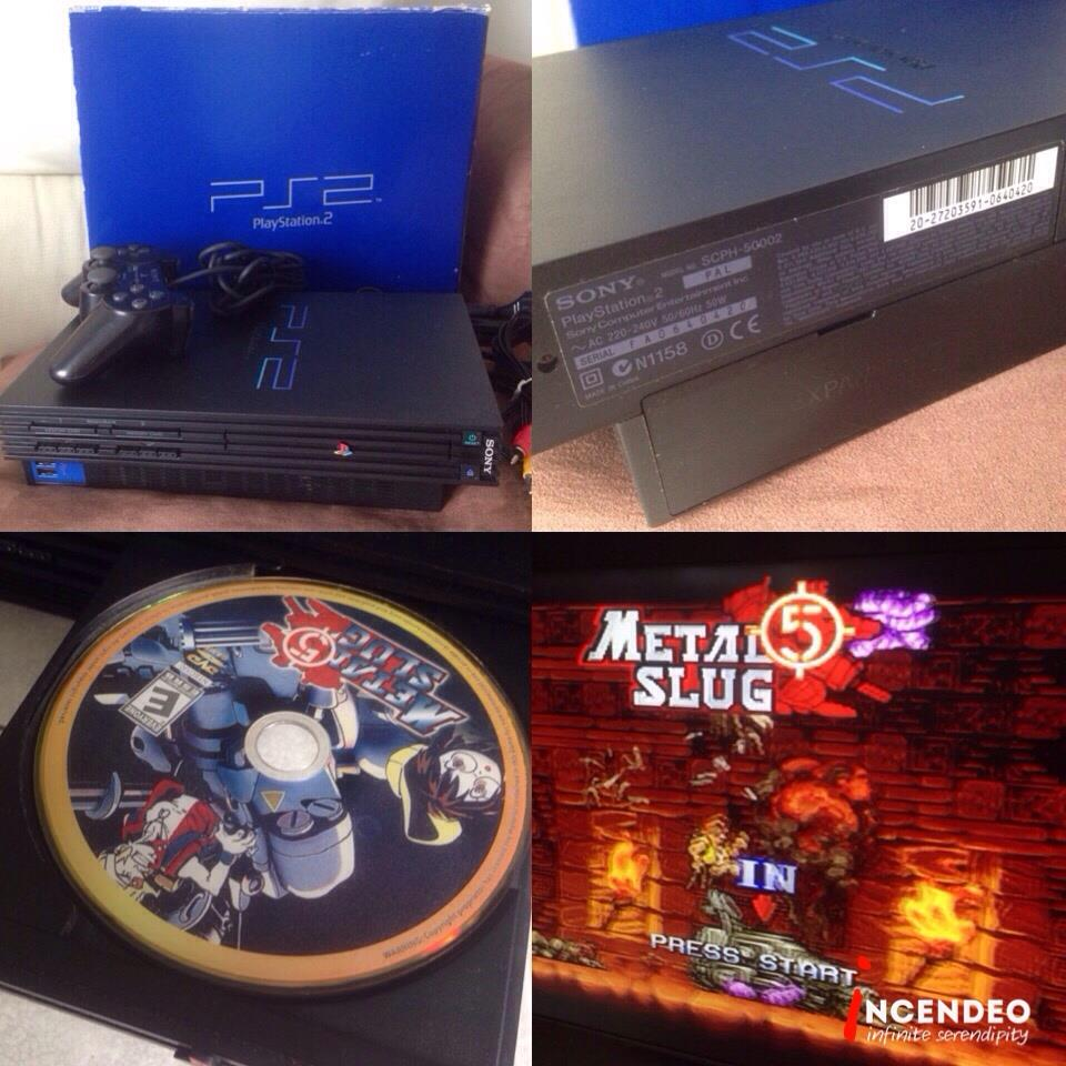**incendeo** - SONY Playstation 2 (PS2) Game Console SCPH-50002