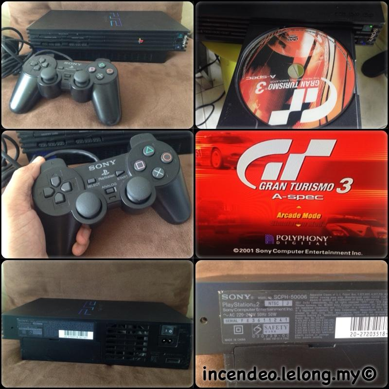 **incendeo** - SONY Playstation 2 (PS2) Game Console SCPH-50006