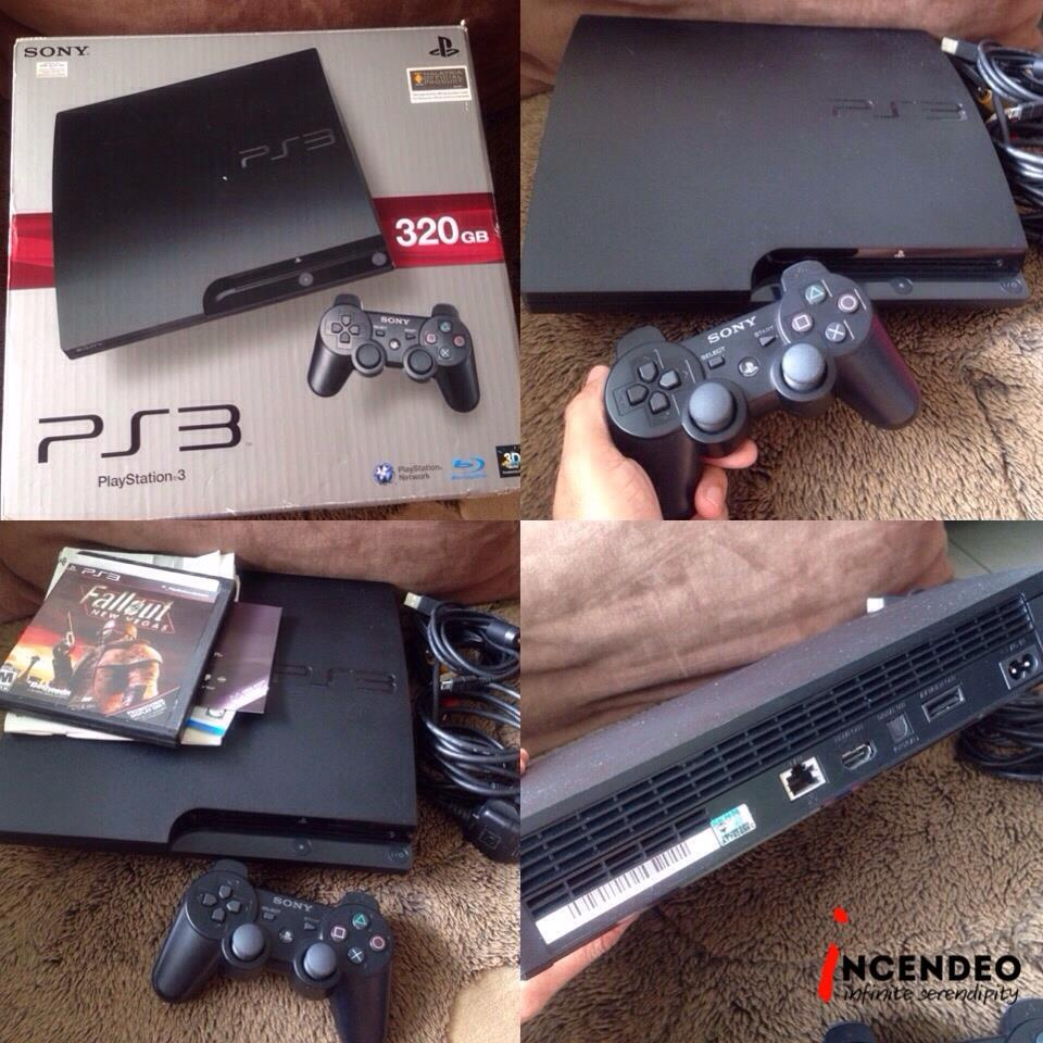 **incendeo** - SONY Playstation 3 (PS3) 320GB Game Console CECH-3006b