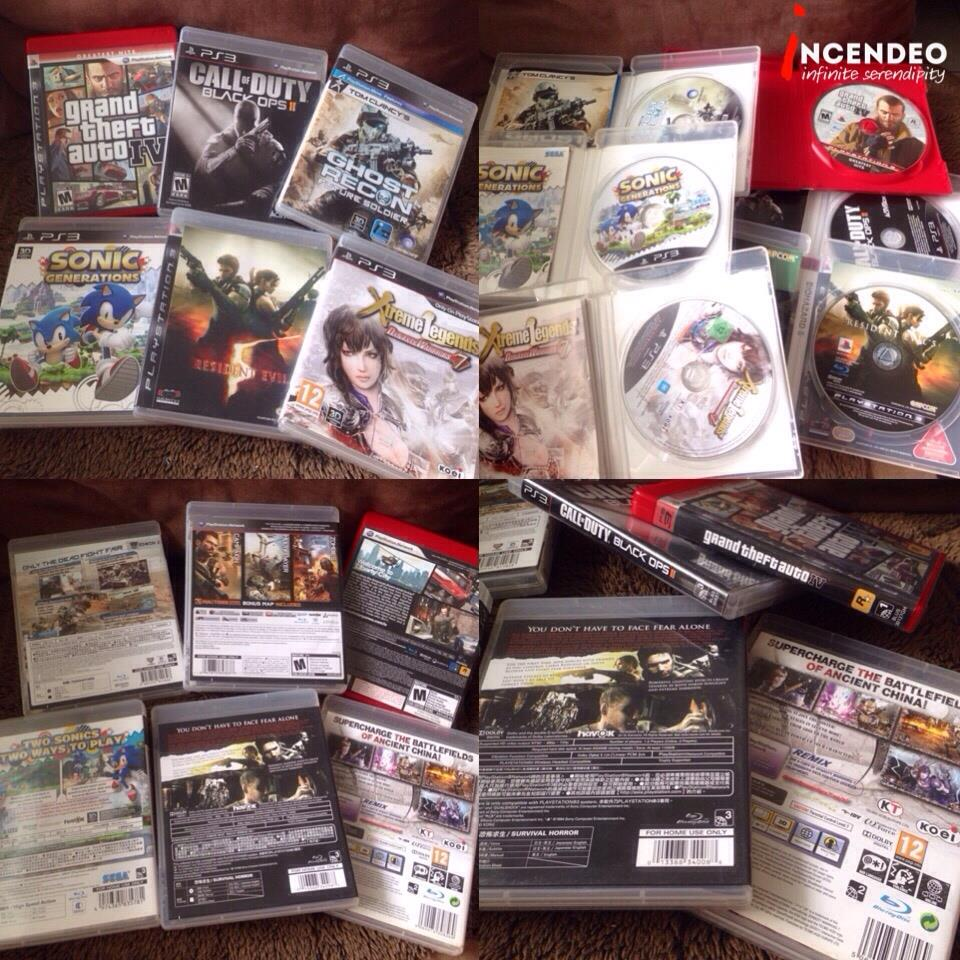 **incendeo** - SONY Playstation 3 (PS3) Hot Blu-Ray Games