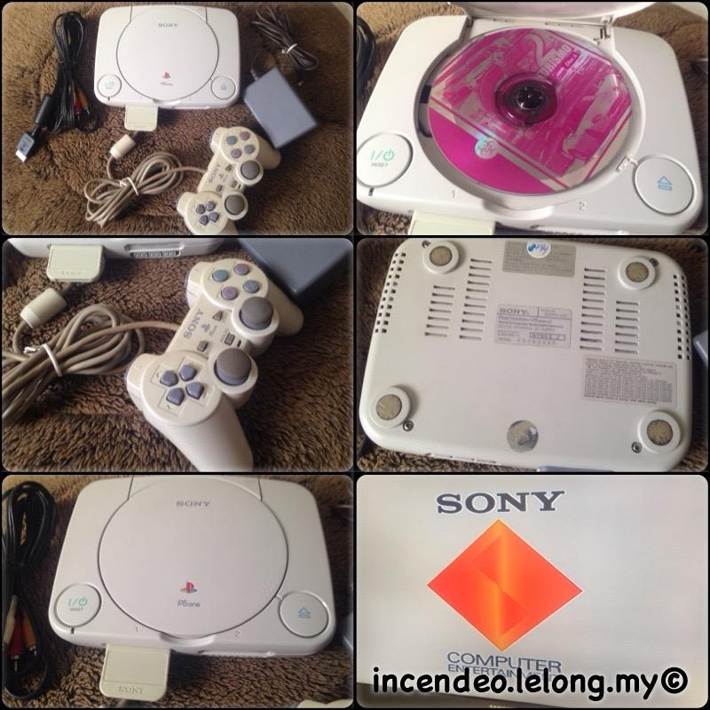 **incendeo** - SONY Playstation One (PSONE) Game Console SCPH-103
