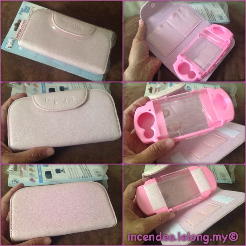 **incendeo** - SONY PSP 2000/3000 Pink 2 in 1 Protection Case