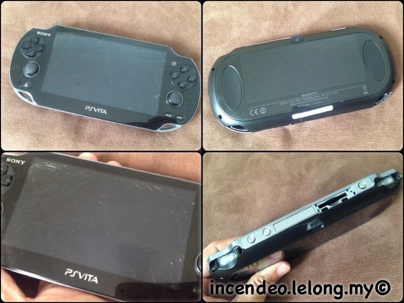 **incendeo** - SONY PSVITA Game Console PCH-1004