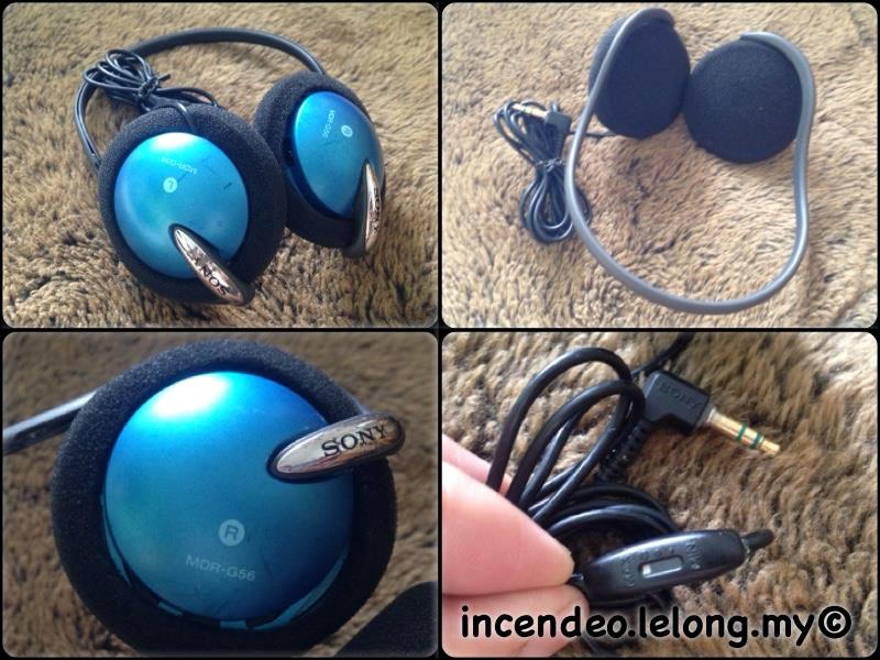 **incendeo** - SONY Sport Stereo Headphone MDR-G56