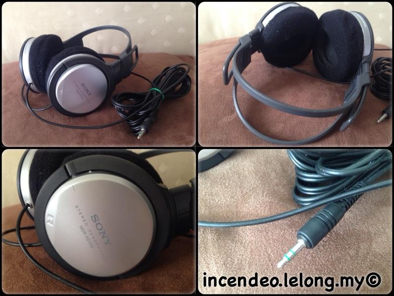 **incendeo** - SONY Stereo Headphones MDR-XD100