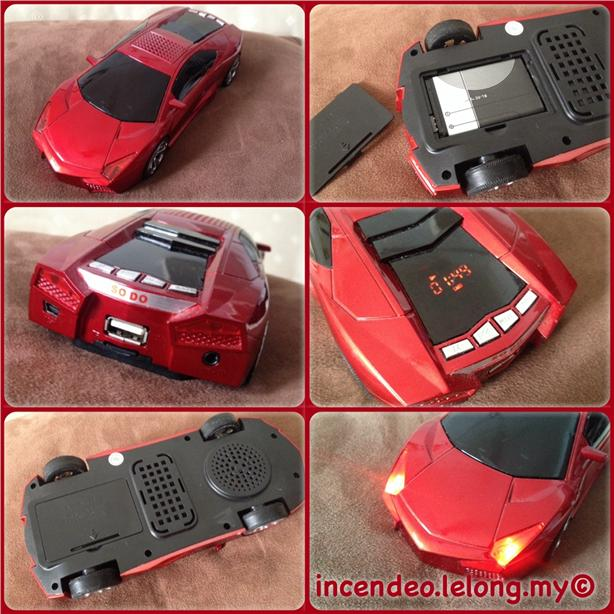 **Incendeo** - SO DO Sport Car MP3 and Radio with Powerful LoudSpeaker