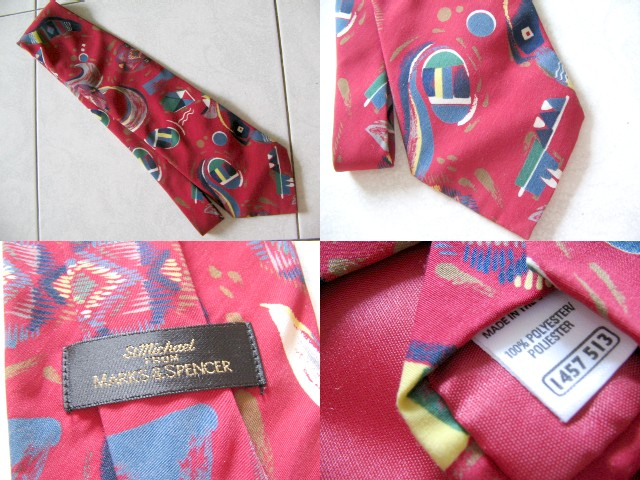 **Incendeo** - St. Michael Mark & Spencer Red Tie