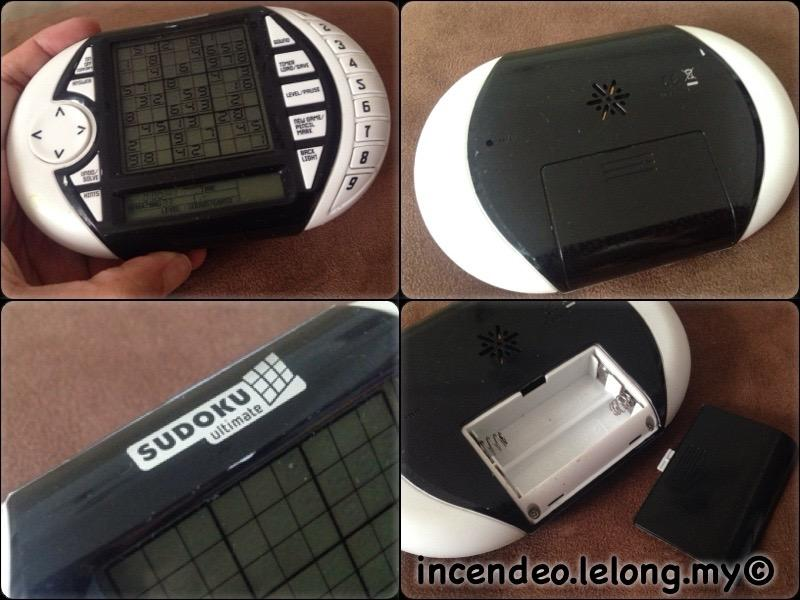 **incendeo** - SUDOKU Ultimate Portable Game Device