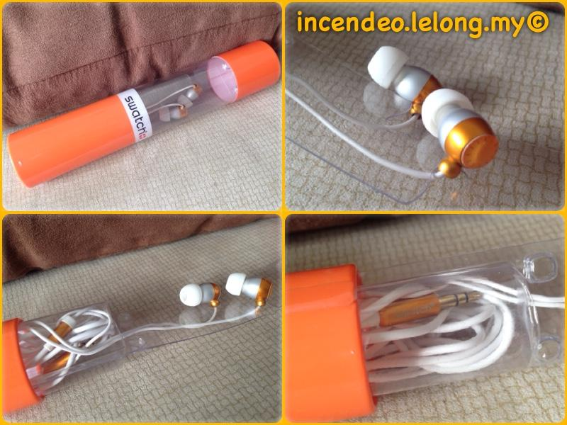 **incendeo** - swatch In-Ear Headphones