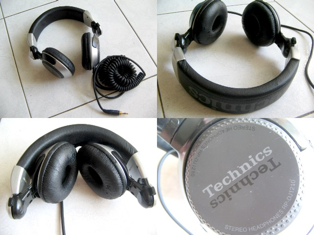 **Incendeo** - Technics Stereo Foldable Headphones RP-DJ1210