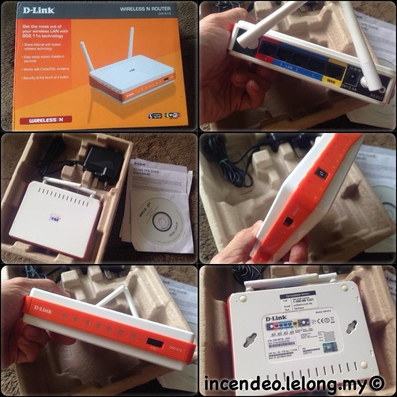 **incendeo** - TM D-Link Wireless N Router DIR-615