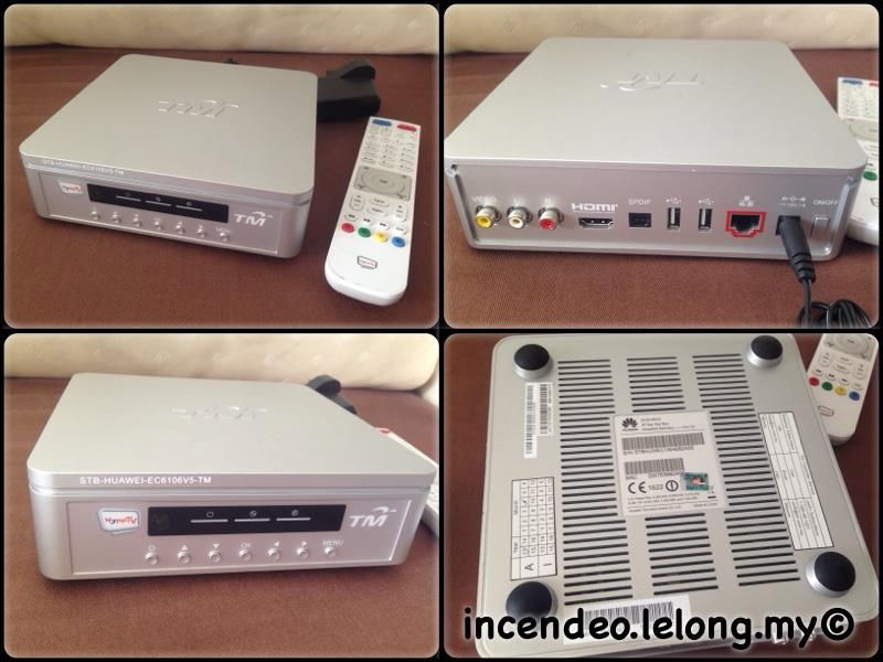**incendeo** - TM HyppTV Huawei IP Set-Top Box EC6106V5