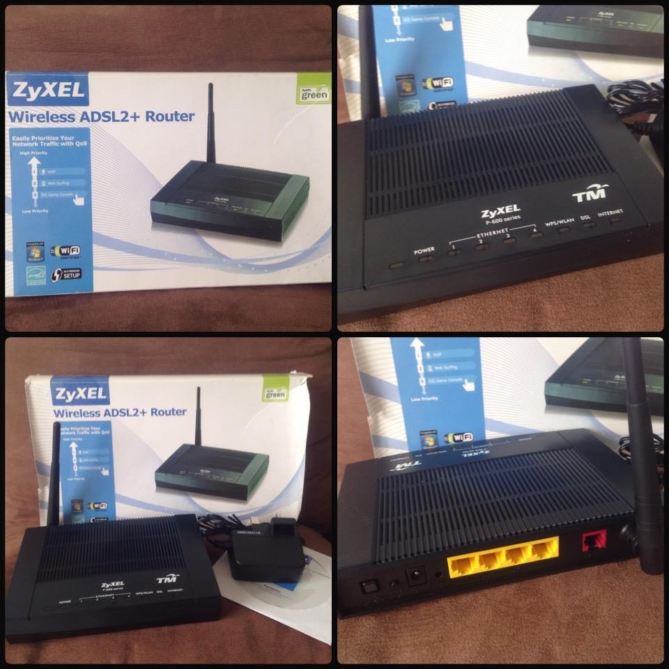 **incendeo** - TM ZyXEL Wireless ADSL2+ Modem Router
