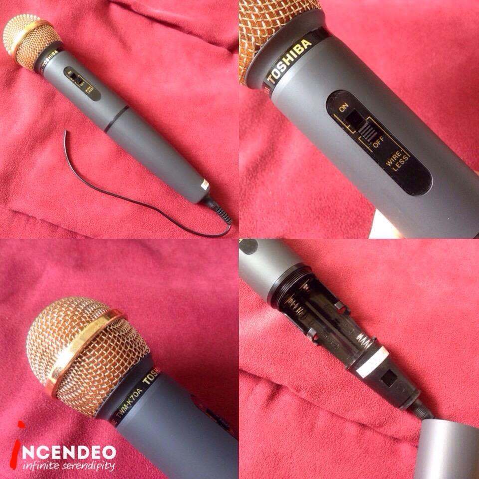 **incendeo** - TOSHIBA Cordless Microphone TWM-K70A