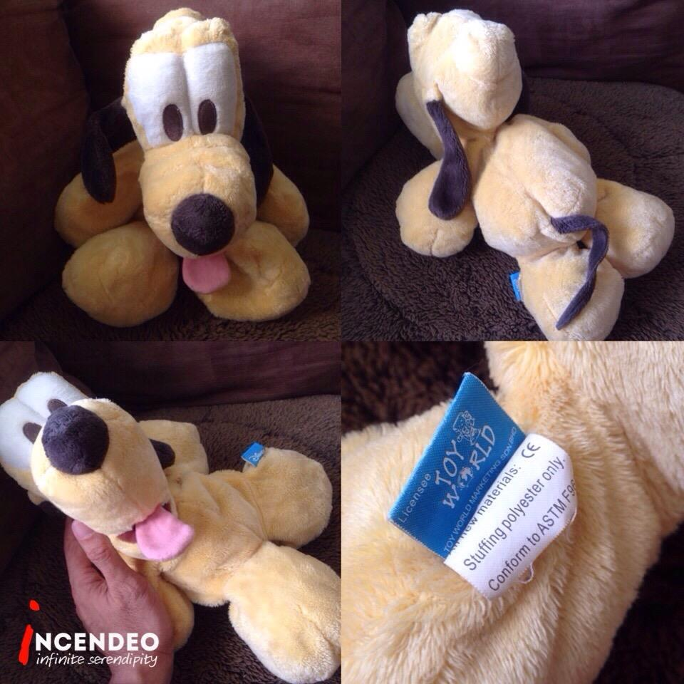 **incendeo** - Toy World Disney Pluto Soft Toy