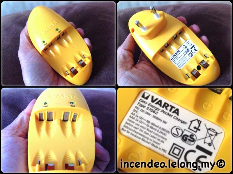 **incendeo** - VARTA Easy Energy Pocket Charger Type 57062