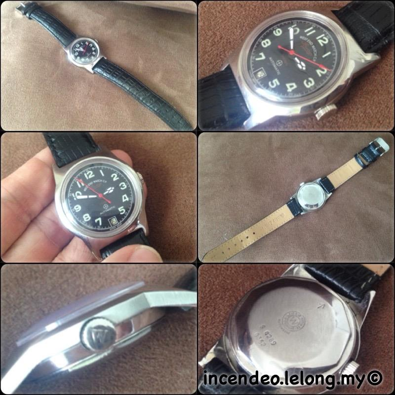 **incendeo** - Vintage WEST END Sowan Prima Automatic Military Watch