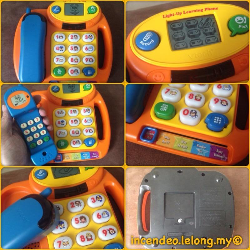 **incendeo** - vtech Light-Up Learning Cordless Phone for Toddlers