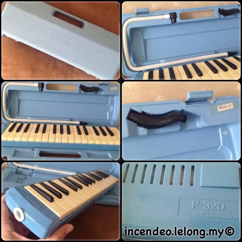 **incendeo** - YAMAHA 32-Note Pianica Keyboard Wind Instrument P-32D