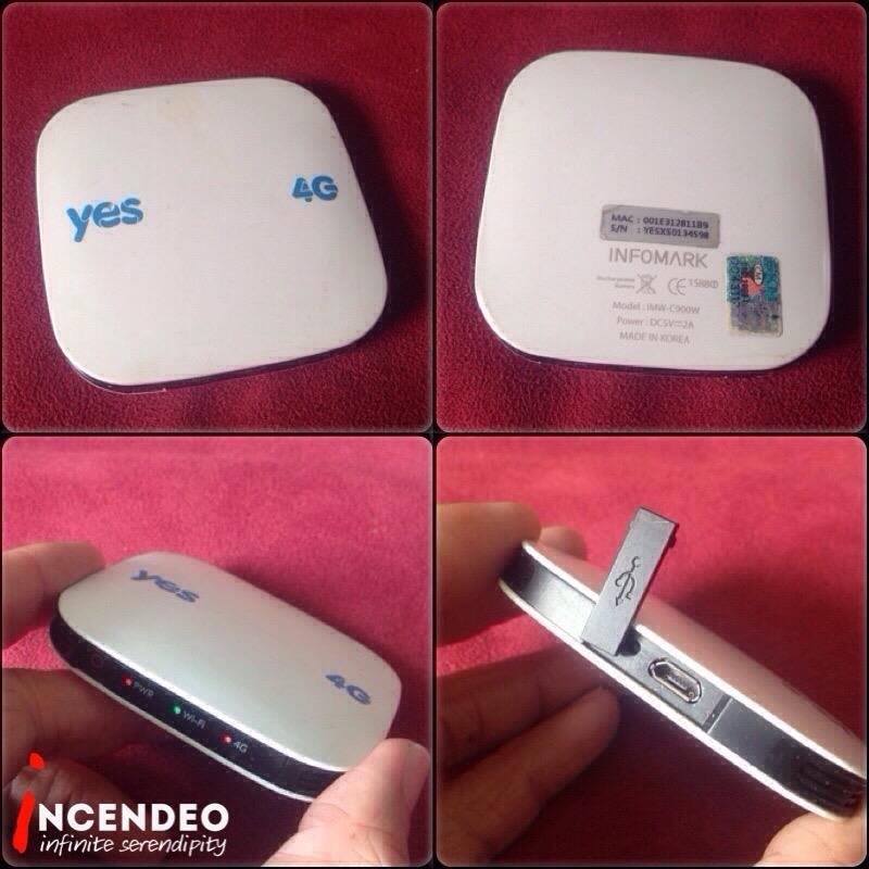 **incendeo** - yes 4G Huddle XS Wireless Internet Hotspot