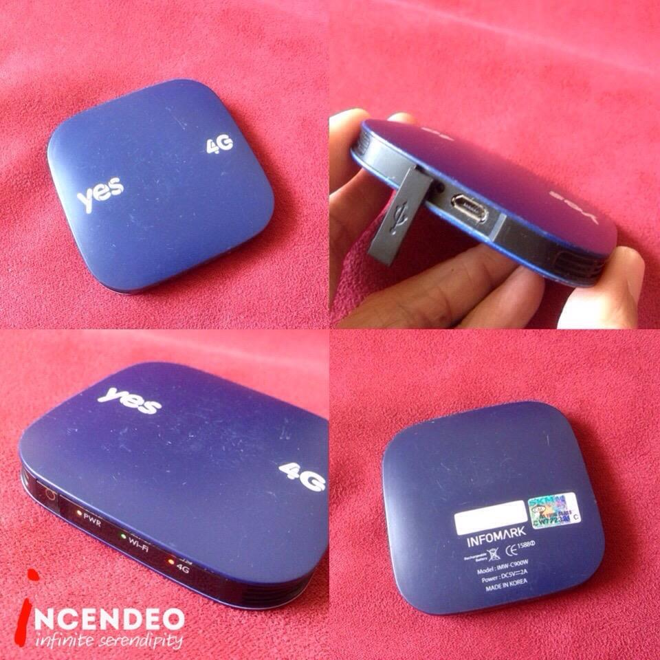 **incendeo** - yes huddle XS 4G WiMAX Internet Wireless Hotspot (Blue)