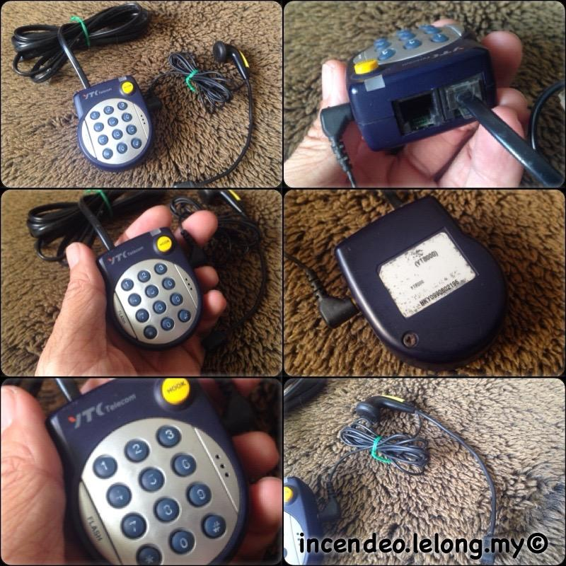 **incendeo** - YTC Telecom Handheld Mini Telephone Headset