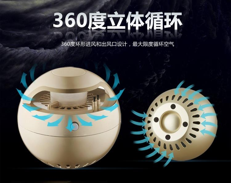 Indoor air purifier in addition to second-hand smoke flavor