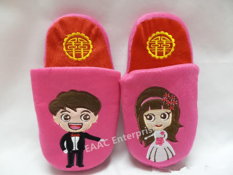 Indoor New Marriage Couple Office Home Bedroom Slippers Sandals Shoes