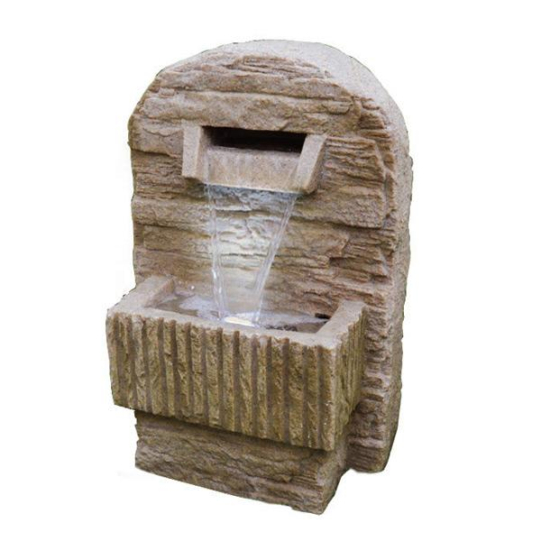 Indoor outdoor feng shui water fountain good fortune for Water feature feng shui