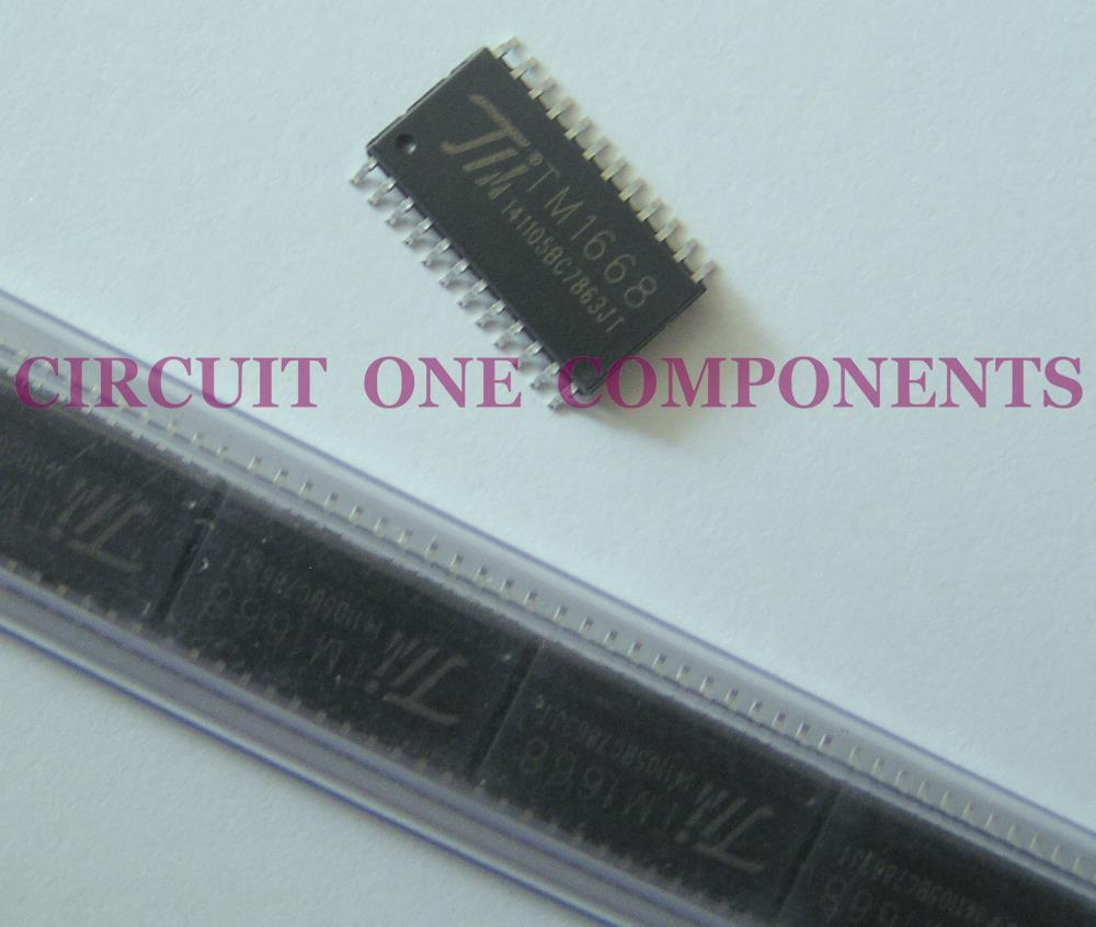 Induction Cooker SMD Component - TM1668 IC - Each