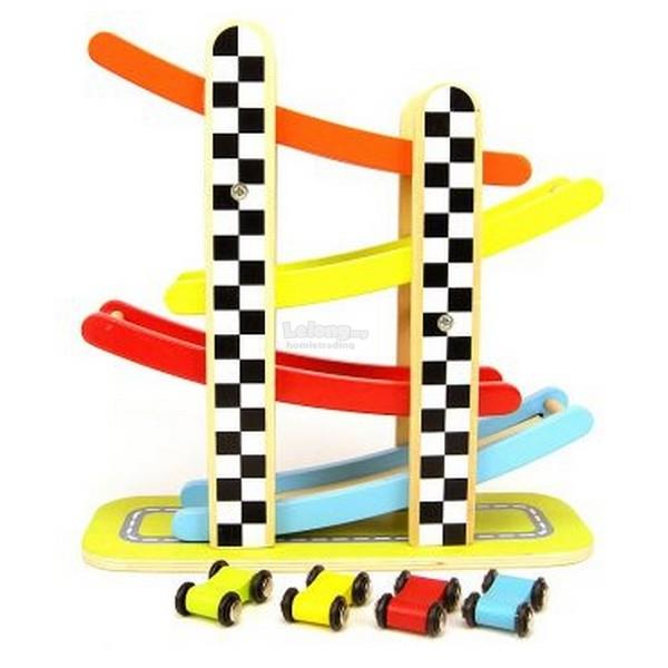 Infant Wooden Toys - GLIDING CARS